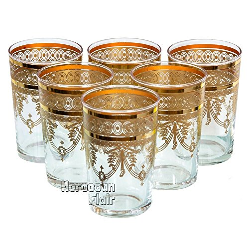 Top 9 Moroccan Tea Glasses – Mixed Drinkware Sets
