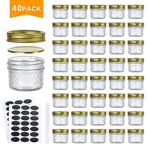 Top 10 4 oz Glass Jars with Lids – Canning Jars