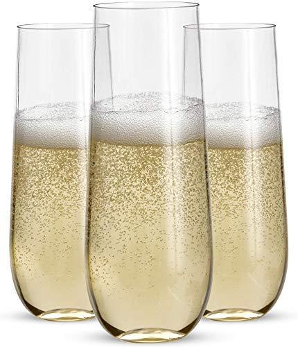 Top 10 Mimosa Plastic Glasses – Champagne Glasses
