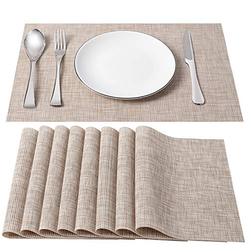 Top 10 Place Mats for Kitchen Table Set of 8 – Place Mats