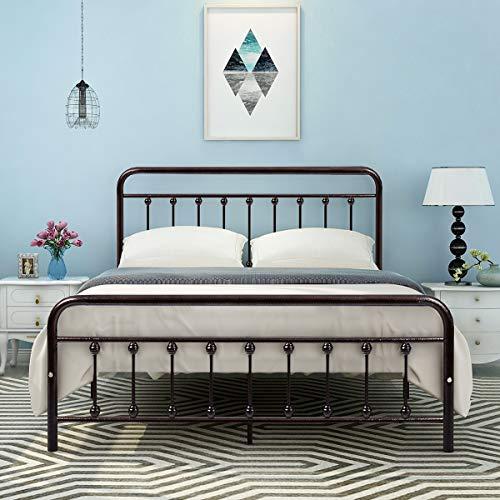Top 10 DIKAPA Metal Bed Frame Queen – Beds