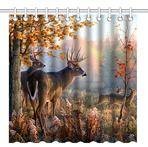 Top 9 Wildlife Shower Curtain – Shower Curtains